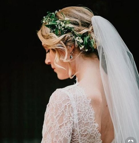 Flower Crown and Veil 10