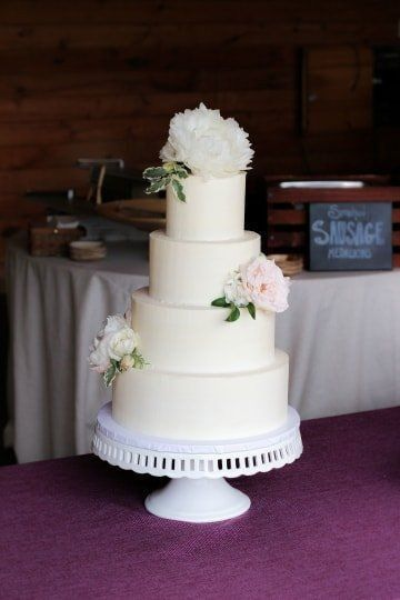 How many tiers in your wedding cake? 1