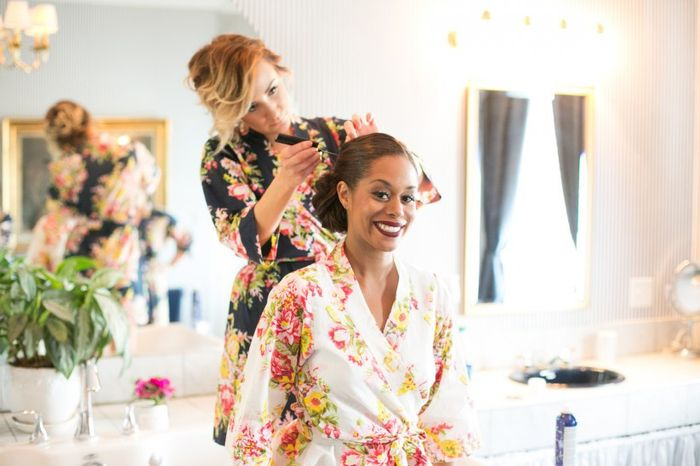 Faux Pas or Nah: Asking your bridesmaids to pay for professional hair and makeup? 1