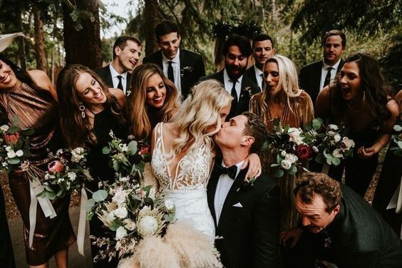 Over or Under: 10 Wedding Party Members? 1