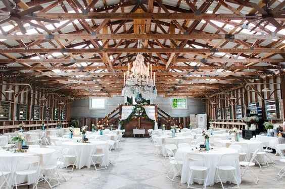 Beautiful Barn Indoor Wedding Venue