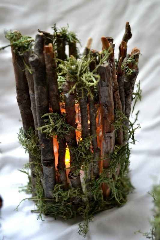 Campfire Centerpiece