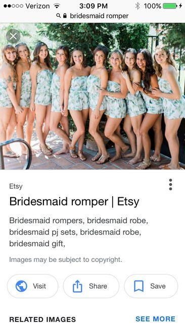Bridesmaids Gift/Attire
