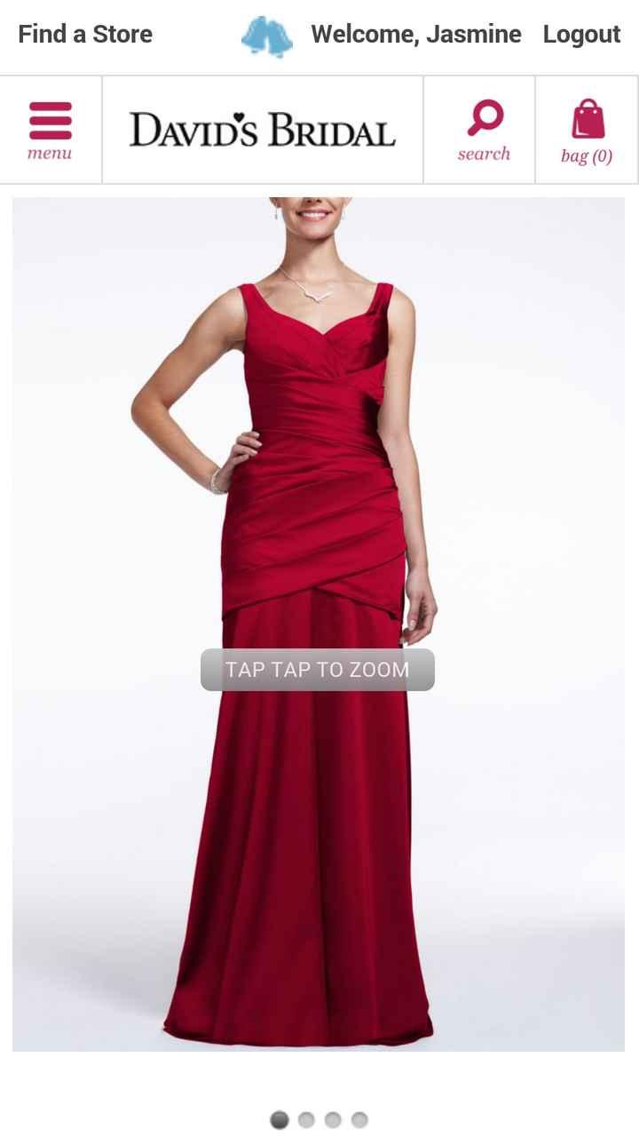 Show us your bridesmaid dresses!
