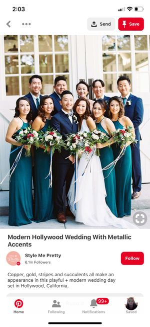 Bridesmaids and Groomsmen Outfits 2