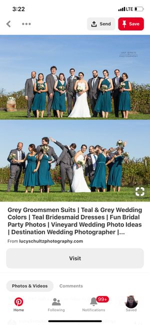 Bridesmaids and Groomsmen Outfits 1