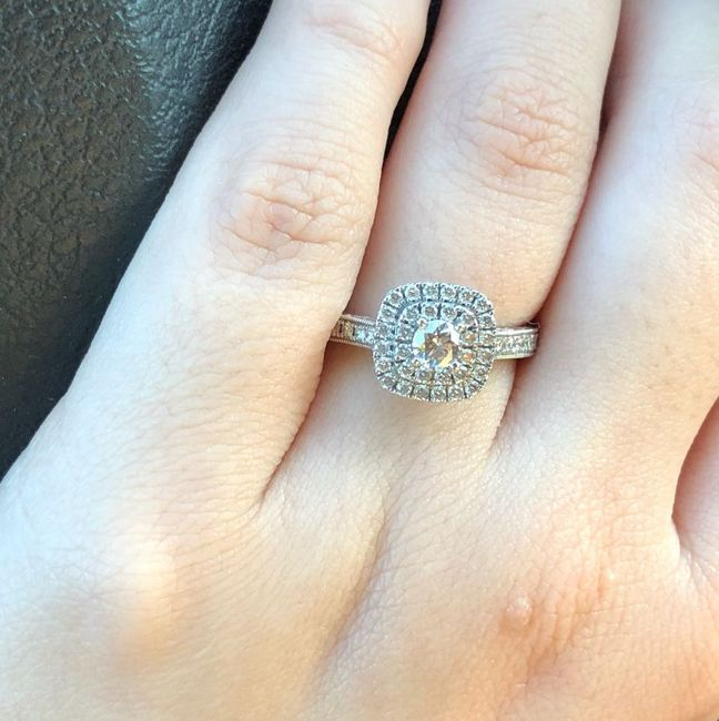 Brides of 2019!  Show us your ring! 2