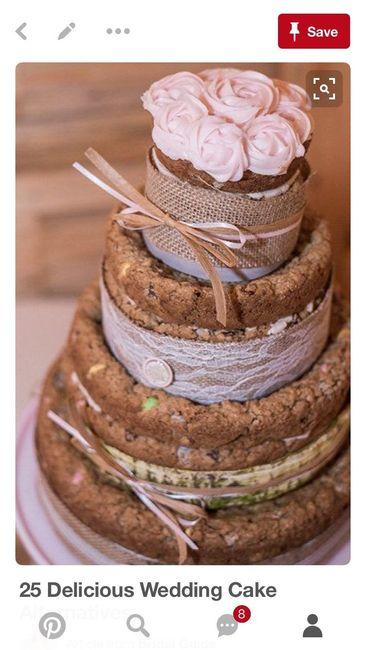 Alternatives to wedding cake