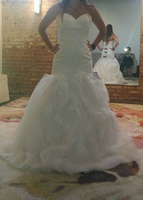 I said YES to the DRESS! :)