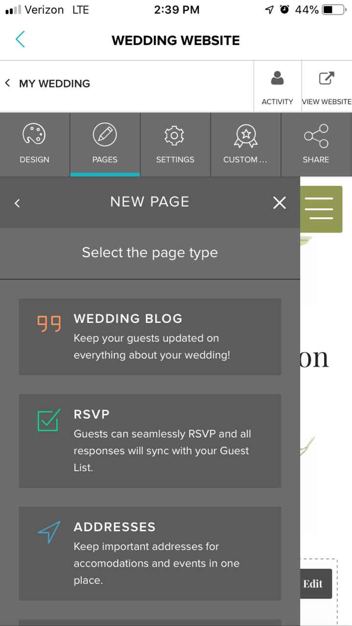Weddingwire website help? - 1