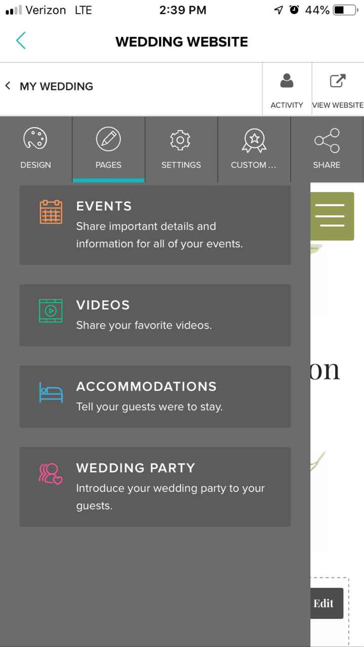 Weddingwire website help? - 2