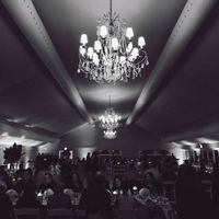 reception chandeliers