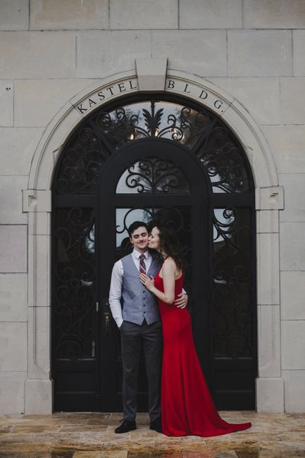 Where are you taking engagement photos? 2