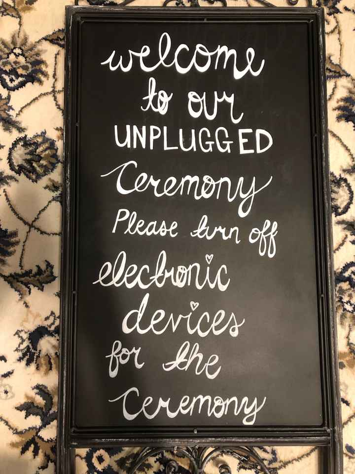diy signs are done! - 2