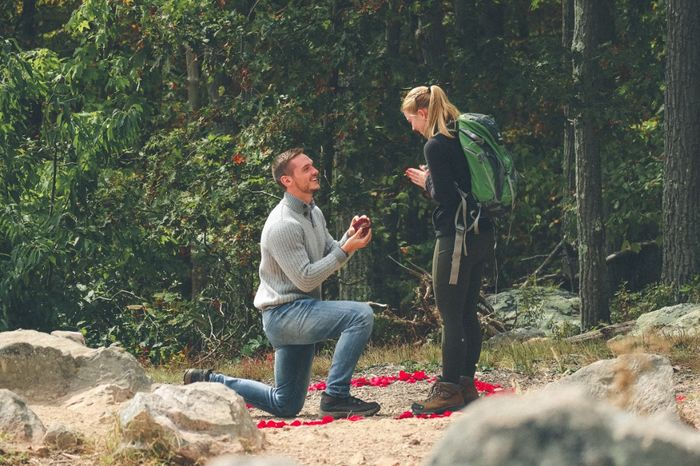 Was your proposal a total surprise? 💍 Or did you see it coming?? 2