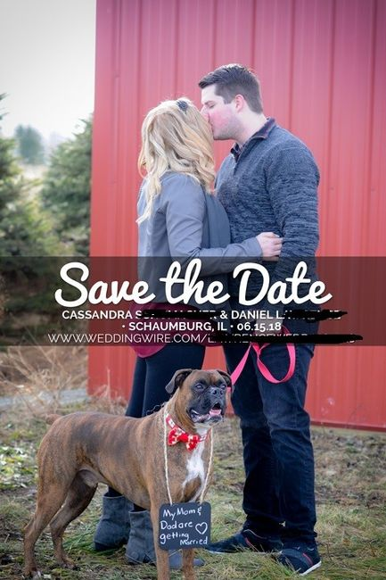 Save the dates - picture or no picture? 5
