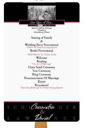 where to order program fans weddings wedding ceremony wedding