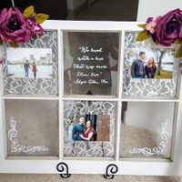 Paging DIYers: window pane picture frame (UPDATE with finished product!)