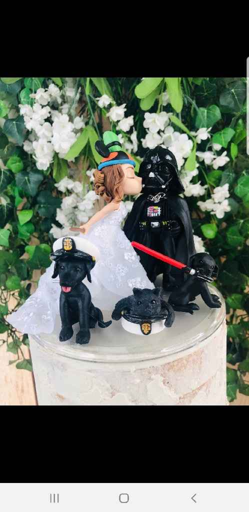 Wedding cake toppers - 1