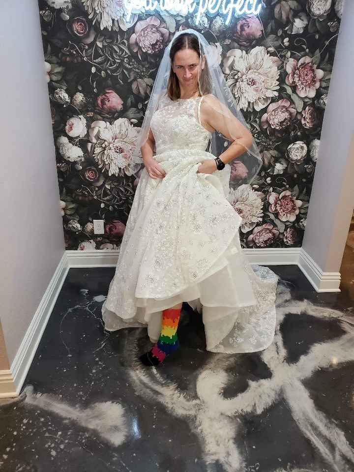 For brides who are planning to wear Converse sneakers   Weddings ...