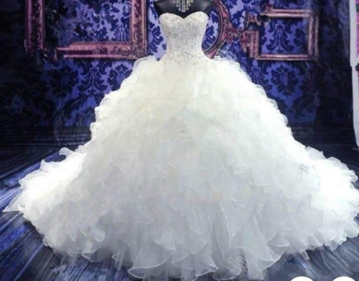 Ordering wedding dresses online 1