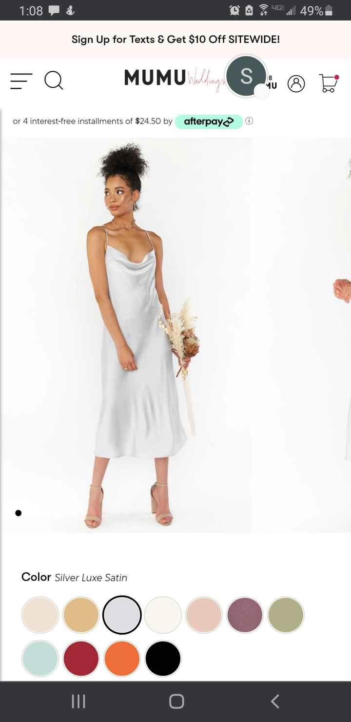 Rehersal dinner dress - 2