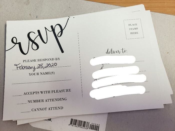 Feedback Wanted: Look at my invites i plan to order before the end of November! 5