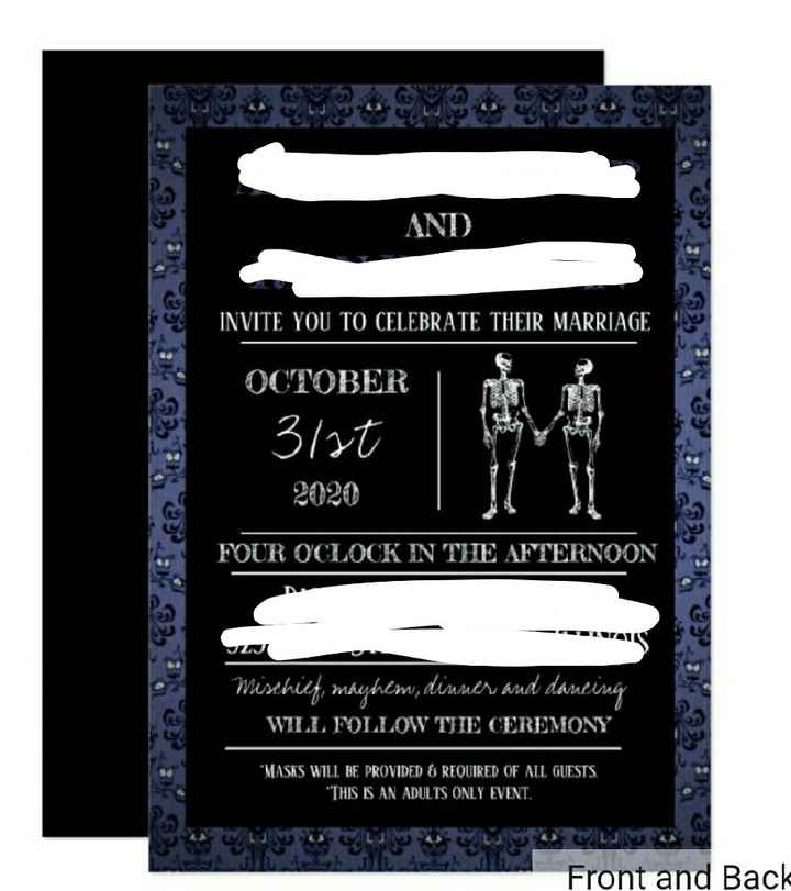 i Finally Sat Down And Started Invitations Tonight - 1