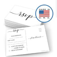 Opinions Please: rsvp cards - 1