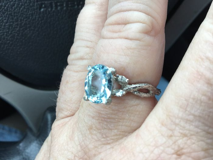 Blue wedding ring 4