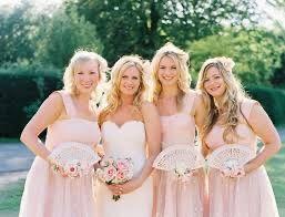 Alternative to bridesmaids bouquets 2