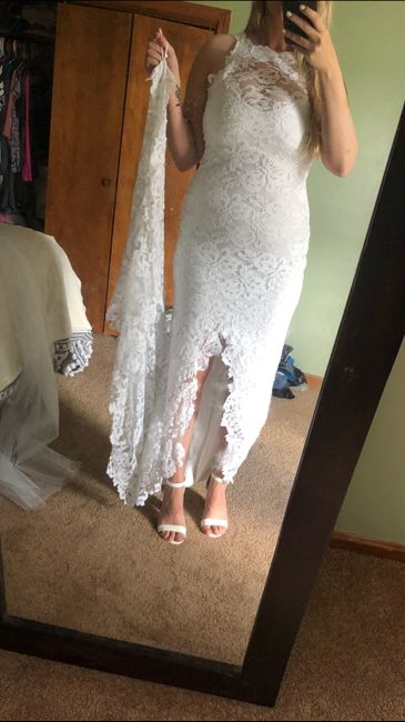 My dress!!!! 11
