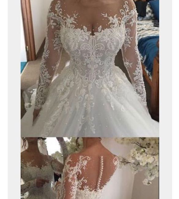 Adding Sleeves To A Wedding Dress: Adding Sleeves To My Dress.