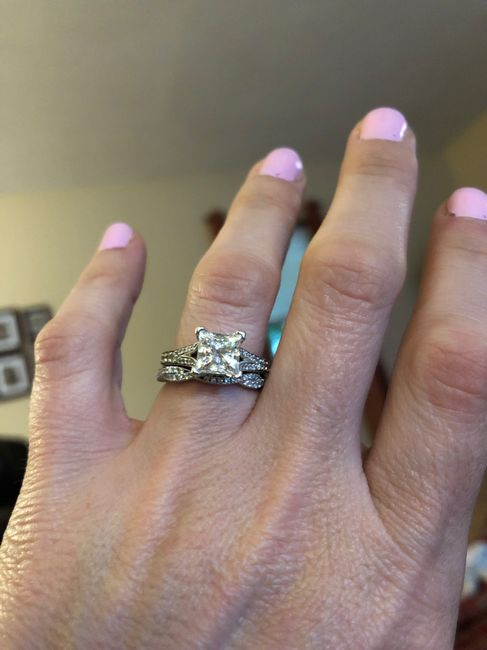 Brides and brides to be! i want to see your wedding bands or ideas for wedding bands! 4