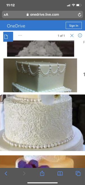 Here is my cake - 1