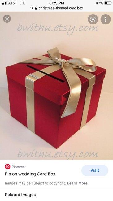 Wedding Card Box Alternatives? 2