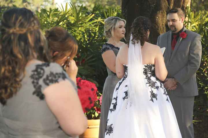 Bridesmaid Officiant - 1
