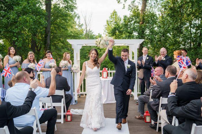British themed Long Island Wedding bam - 30