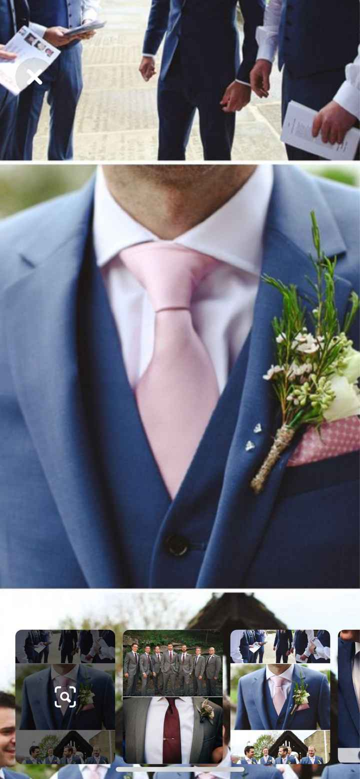 Will your bridesmaid dresses match your groomsmen ties? - 1