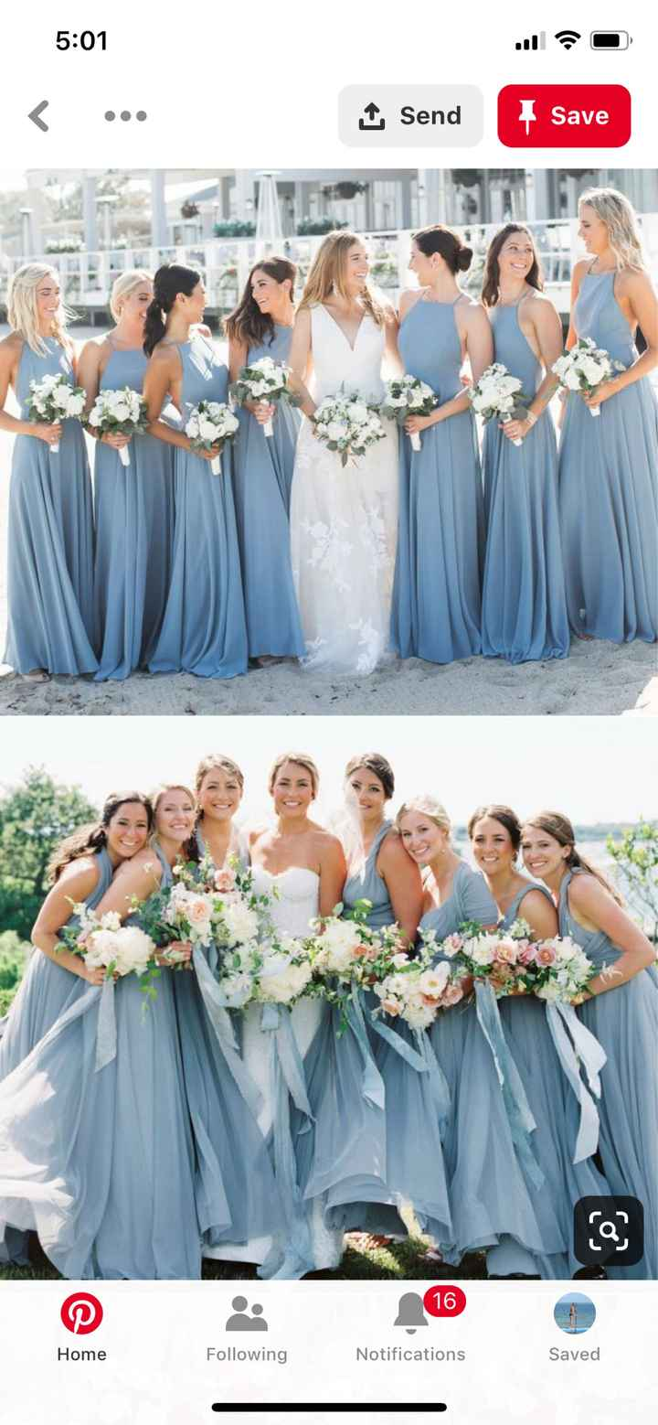 Will your bridesmaid dresses match your groomsmen ties? - 2