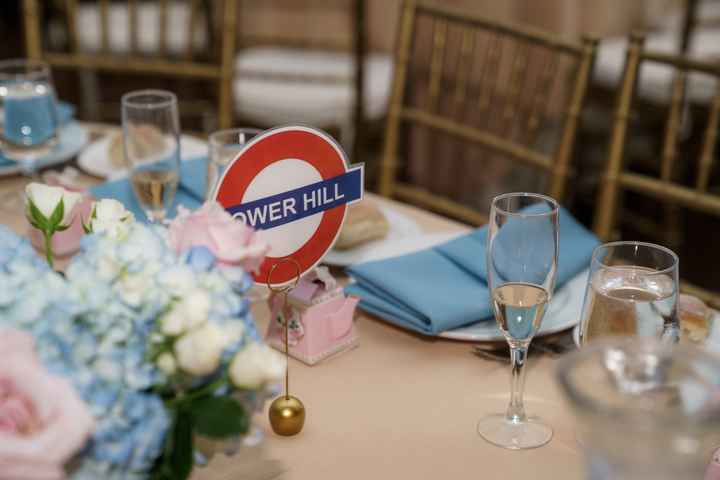 British themed Long Island Wedding bam - 3