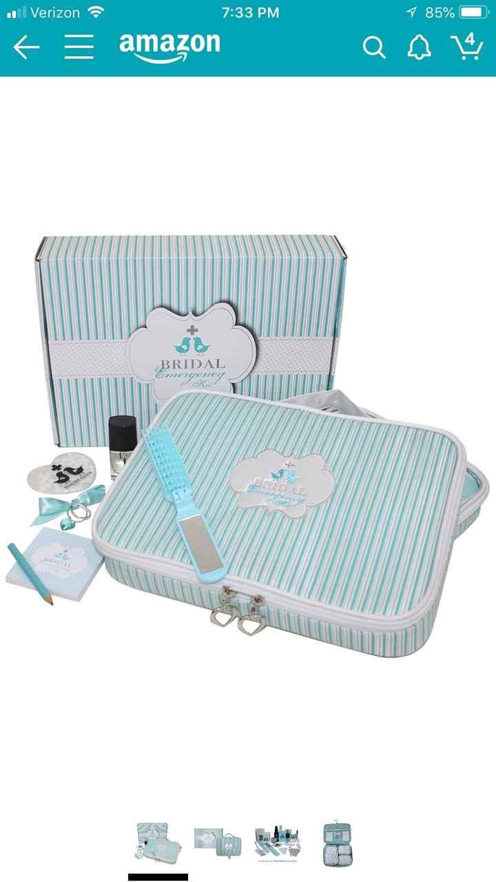 Bridal emergency kit? - 1