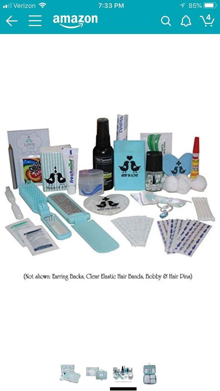 Bridal emergency kit? - 2