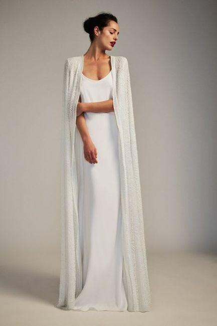 Wedding dress for winter desert wedding 3