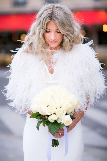 Wedding dress for winter desert wedding 4