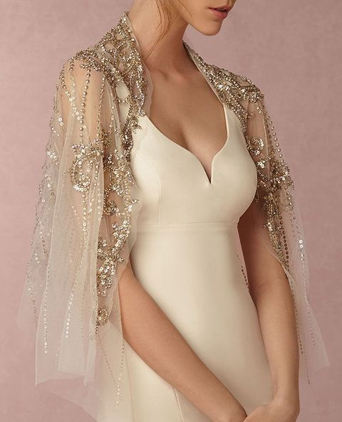 Wedding dress for winter desert wedding 5