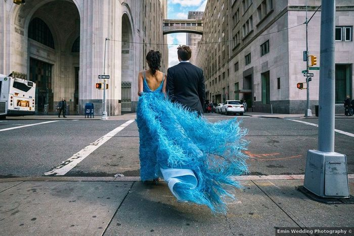 Dress Duels: Blue or Blush? 2