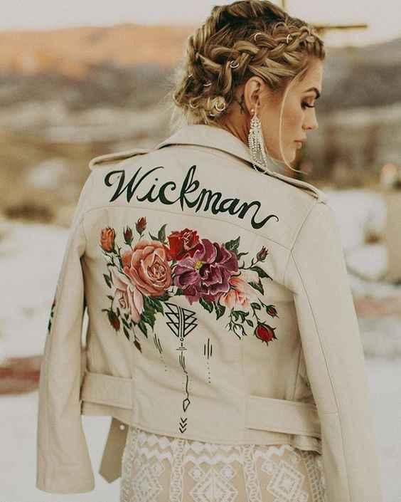 bride jacket