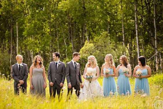 bridal party man of honor