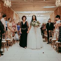 wedding ceremony processional song bride mother